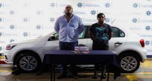 Detienen a 2 presuntos asaltantes de cuentahabientes en La Libertad
