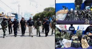 Durante operativo, aseguran artículos prohibidos en La Fayuca y CAPU