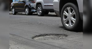 Totalmente afectado el 80% del pavimento en calles de Puebla capital