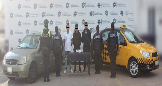 Detienen a 4 hombres por robo a restaurante de colonia Maravillas