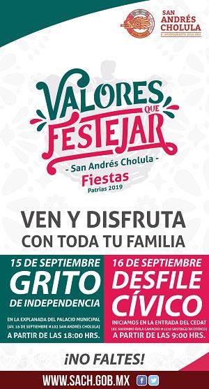 Fiestas Patrias San Andrés Cholula