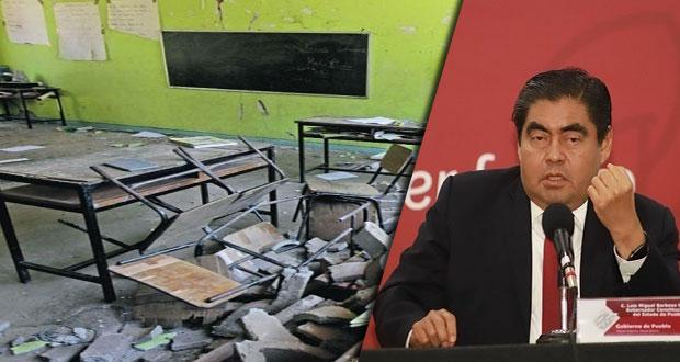 Hubo malversación de recursos en apoyos del sismo; ya se investiga: Barbosa