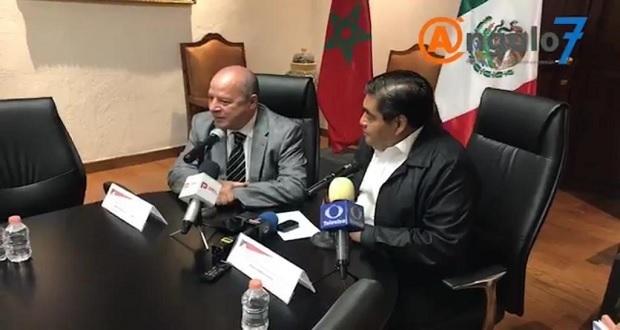 Marruecos organizará misión comercial a Puebla para finales de 2019