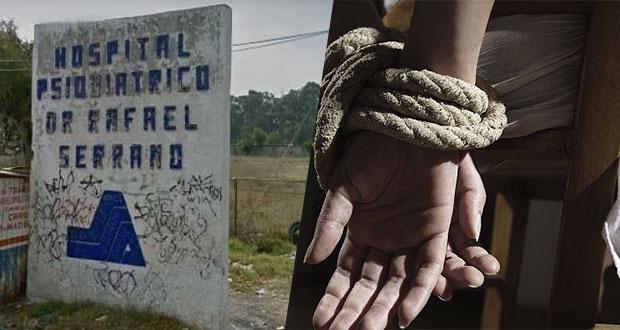 """ONGs documentan abusos en """"El Batan""""; amarran a pacientes para """"controlarlos"""""""
