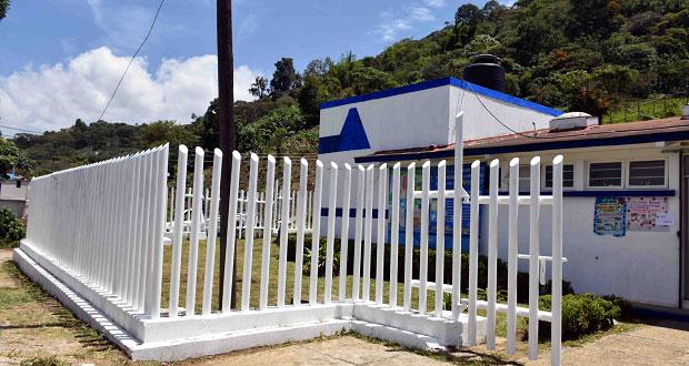 Rehabilitan en Huitzilan de Serdán un centro de salud