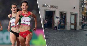 Roban 38 mil pesos de apoyo federal a medallista Laura Galván.