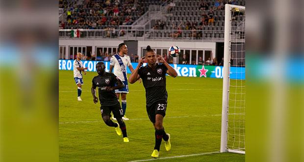 El Club Puebla empató a un gol ante el DC United en juego amistoso