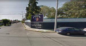 Agreden a guardia para robar en el Colegio Loyola, en Huexotitla