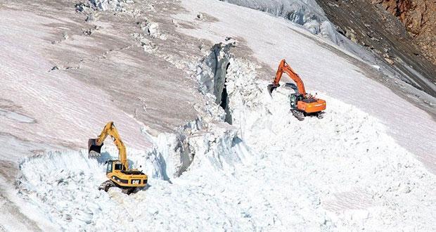 Restort Turístico de esquí destruye glaciar en Austria, denuncian