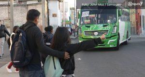 Upaep, a favor de descuento para estudiantes en transporte público