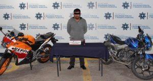 En la BUAP, detienen a hombre y menor por robo de moto a alumno