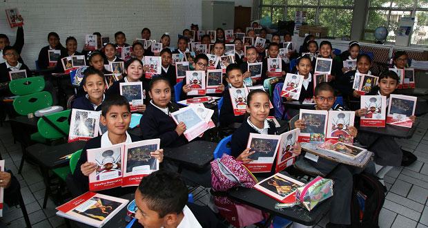 Comienza distribución de libros para secundarias poblanas: SEP