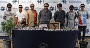 Detienen a 10 en La Margarita por portación de drogas