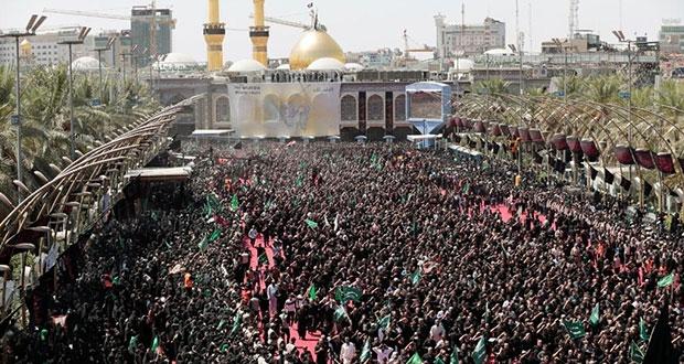 Una estampida durante festival religioso deja 31 muertos en Irak