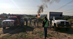Hay seis heridos por fuga de gas LP en Cuautlancingo; autoridades atienden