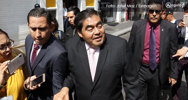 Se levantará información reservada de obras y contratos con decreto de Barbosa