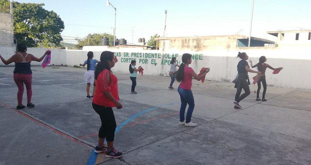 Antorcha impulsa creación de grupo de danza en localidad de Chietla