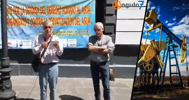 Puebla ya es 2° lugar en fracking con más de 1,400 pozos; urge frenarlos: ONG