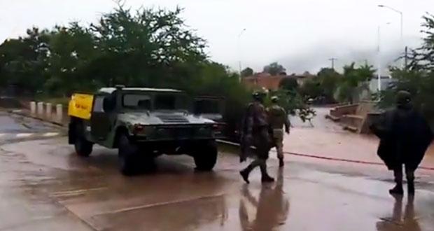 """Paso de """"Lorena"""" por Colima deja deslaves, apagones e inundaciones"""