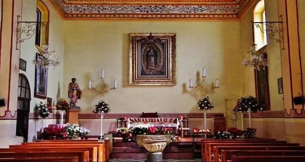 En diablito, roban alcancía de limosnas a iglesia de Huahuchinango