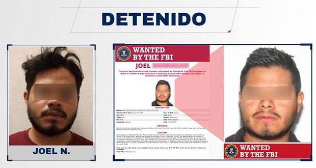 Por robo, detienen en Acatlán a criminal buscado por el FBI