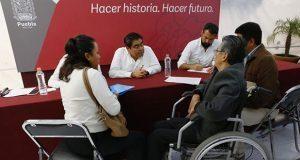 En jornada ciudadana, piden apoyo para personas con discapacidad