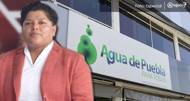 Sin condiciones aún para quitar concesión a Agua de Puebla: Karina Pérez