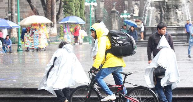 Se pronostican lluvias de moderadas a fuertes en Puebla: PC