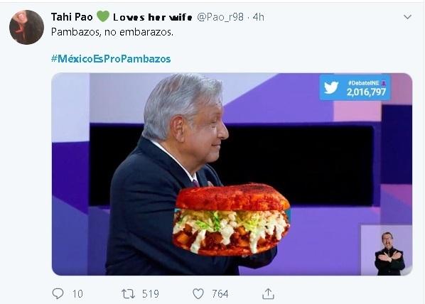 ¿Por qué #MéxicoEsProPambazos es tendencia en Twitter hoy?