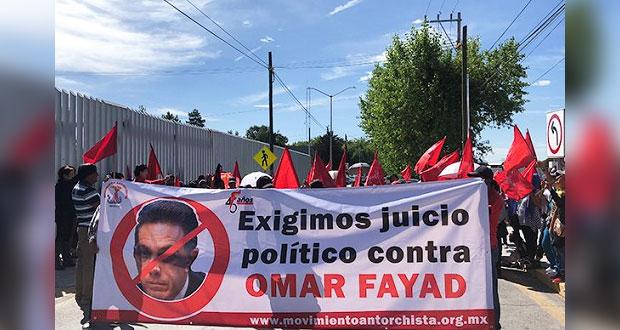 Con 100 mil firmas, pedirán juicio político contra Fayad Meneses