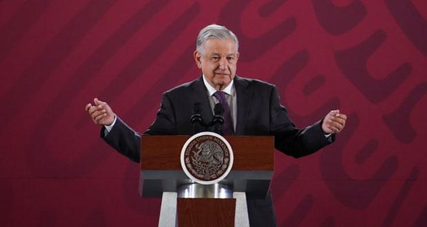 Mi gobierno no permite fraude electoral como anteriores: AMLO a INE