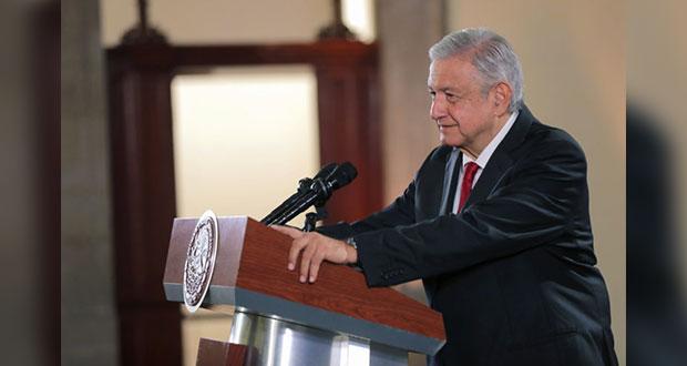 """AMLO agradece a Trump por destacar """"buena"""" relación bilateral"""