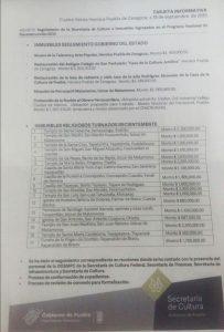 Al 53%, reparación de templos y monumentos dañados por sismo en Puebla: INAH