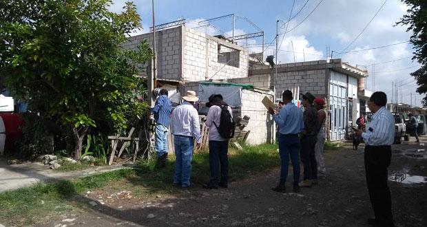 Inicia regularización de predios en colonia antorchista de Puebla