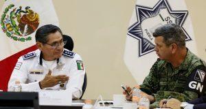 Puebla y Oaxaca definen estrategia de seguridad; acuerdan despliegues