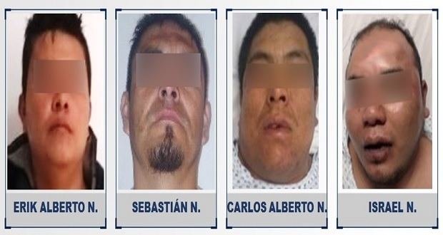 Cuatro hombres son procesados por robo en Ajalpan y Tehuacán