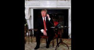 """Trump sostiene que """"frontera es más fuerte"""" tras llamada con AMLO"""