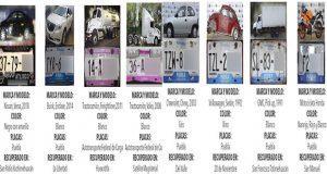 Recuperan ocho vehículos con reporte de robo en Puebla capital