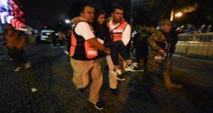 Pirotecnia cae sobre multitud y deja 14 heridos en Grito de Xalapa