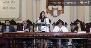En informe ante regidores, Rivera reconoce que hace falta trabajar por Puebla