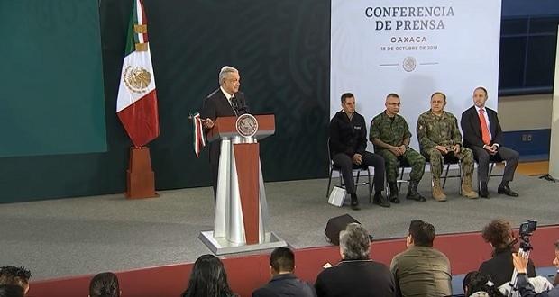 Ovidio Guzmán nunca fue detenido formalmente: Durazo; AMLO respalda decisión