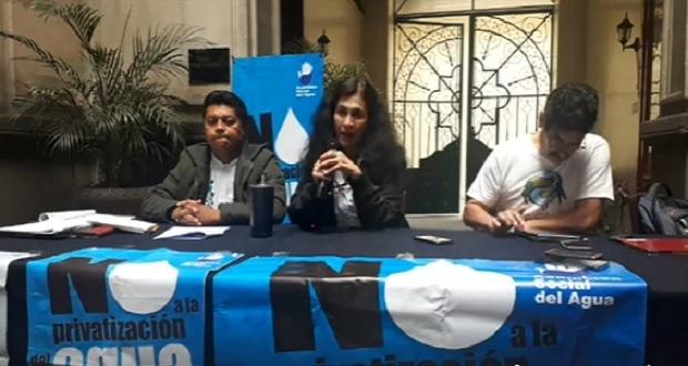 Siguen cortes pese a restricción de Cabildo a Agua de Puebla, acusa ASA