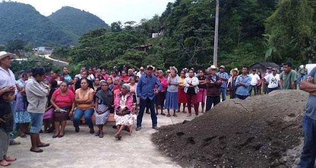 Antorchistas denuncian negativa de Eloxochitlán para construir salón