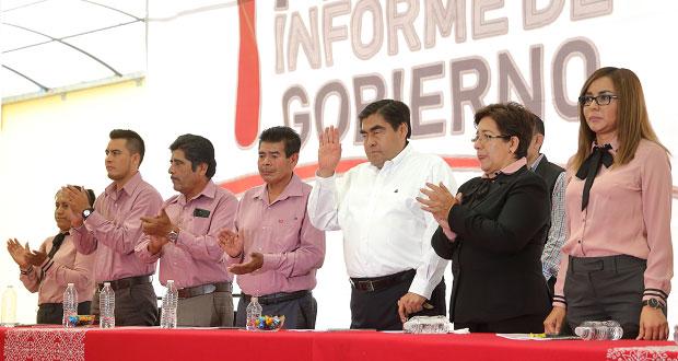 Apoyo en seguridad y mejoras al DIF de Tepexi, compromiso de Barbosa