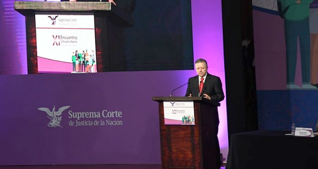 Jueces en México, sin legitimidad que deben tener: presidente de SCJN