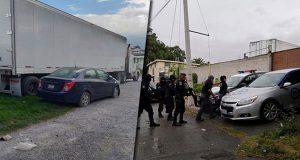 Aseguran autos y mercancía robada de transportistas en Caleras