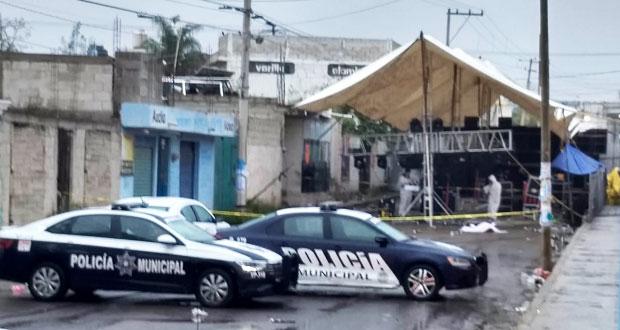 Ataque a baile de sonidero deja 3 muertos en colonia de Amozoc
