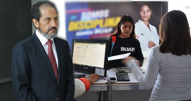 BUAP no admitirá a extras en su matrícula para 2020, advierte Esparza