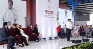 Gobierno no le teme a bandas delictivas, señala Barbosa en Tecamachalco