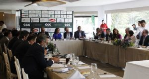 CCE presenta a Salomón agenda empresarial con inversión de 12 mmdp